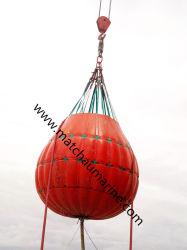sacchetto riempito acqua di prova del caricamento della prova della gru 35t