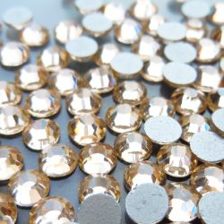 Fabbrica 2015 Sale Sparking Flat Back Rhinestone/Non Hot Fix Rhinestone per Nail Art
