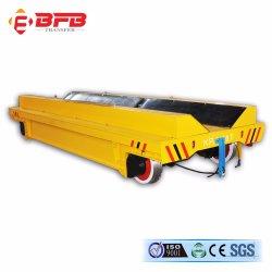 Tambor de cable Powered fábrica de aluminio de transferencia de motorizados vagón on Rails