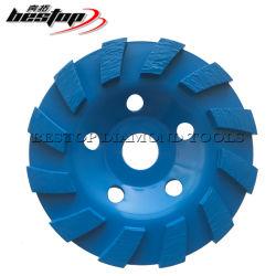 D125mm frío de la Copa de diamantes baratos Pulse la rueda para el Hormigón pulido de piedra