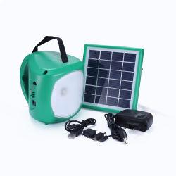 Портативный возобновляемых источников солнечной энергии постоянного тока питания домашнего освещения системы генератора