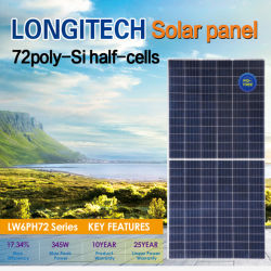 Painel Solar 72 Poly-Si Half-Cells