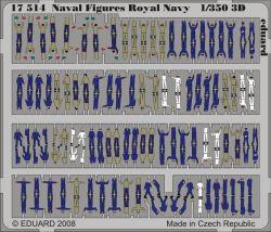 Les chiffres Photo-Etched US Naval (peint) pour le modèle navire Photo-Etch