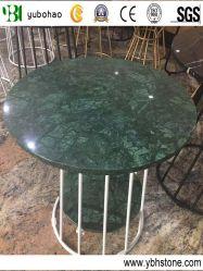 Verde Escuro/mármore polido Round Table Top