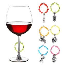 方法家具の装飾の水晶ワイングラスのリングの宝石類