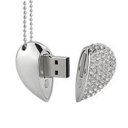ترويجيّة هبة [جولّري] قلب شكل [أوسب] برق إدارة وحدة دفع مجوهرات ماس [أوسب]