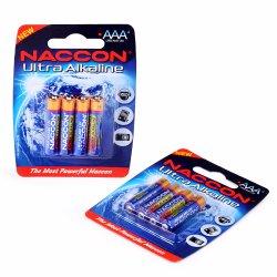 1,5 V AAA LR03 Am4 Seca Alcalina Bateria de célula de bateria de controlo remoto 160 minutos