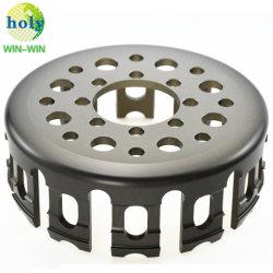 CNCの機械化の製造業者のオートバイのアクセサリのDucatiエンジンの機械部品はクラッチのバスケットのオートバイの予備品の上のオートバイの部品を乾燥する