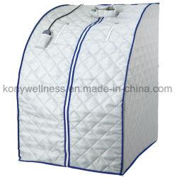 Portable Longe Sauna de Infravermelhos feitos de algodão tenda para metade o uso do corpo