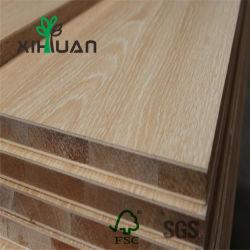 Heißes Verkaufs-wasserdichtes Pappel-Furnier-Blatt lamellierter Block-Vorstand für Tür
