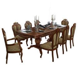 Prorrogáveis uma mesa de jantar com cadeiras em mobiliário Cor para 8-10-12 Pessoas