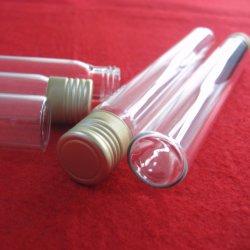 Удалите пользовательские кремния из кварцевого стекла проверку трубки с алюминиевой крышки