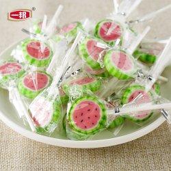 2019 Nuevo Natural Mayorista de Frutas dulces de caramelo duro Palo Lollipop