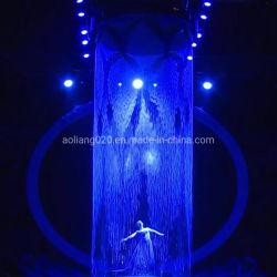 Fontana grafica della cortina d'acqua di Digitahi di figura rotonda di prestazione della fase
