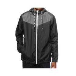 カスタム人の防風のジャケットのジッパーの軽量の防水屋外の柔らかいシェルのウインドブレイカーのジャケットの秋の冬