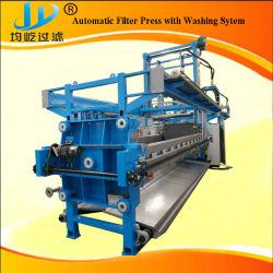 Automatique PP hydraulique haute pression de filtre à membrane de la Chambre presse avec système de lavage