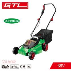 Falciatrice da giardino senza cordone del giardino della macchina della mano di spinta 36V del motore senza spazzola elettrico dello Li-ione