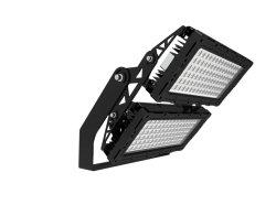 Marcação AEA UL 140lm/W 5 Anos de garantia 240W/300W/400W/500W/600W/720W/800W/900W/1000w/1200W Novo Design Exterior de alumínio Luz Solar Iluminação Industrial LED Projector
