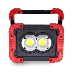 مصباح الغمر LED قابل لإعادة الشحن من خلال منفذ USB قابل للنقل مزود بمصباح غمر مزود بمغناطيس