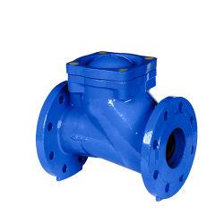 Чугунные тип поворотного механизма с двумя пластины клапана