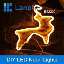 Home Depot Battery وUSB ضوء الكريسماس الذي يتم تشغيله بواسطة LED