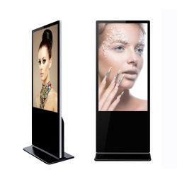 Affissione a cristalli liquidi verticale dello schermo di tocco che fa pubblicità alla visualizzazione del contrassegno della TV Digital