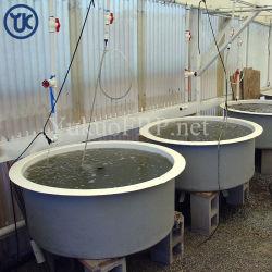 Usine de poissons grands personnalisé PRF réservoir/puits pour l'industrie de drainage