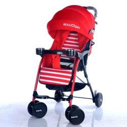 Carrello astuto leggero del passeggiatore del bambino/del bambino disegno semplice/pareggiatore pieghevole facile del bambino