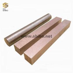 O melhor preço Tungsten-Copper liga de alta qualidade de cobre de tungstênio