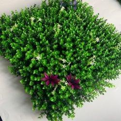 정원 꽃을%s 가진 실내 인공적인 녹색 벽 플랜트
