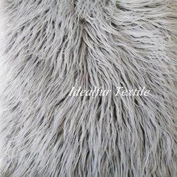 Mongolia de alta calidad de lujo de tirar de pieles Faux Fur Manta