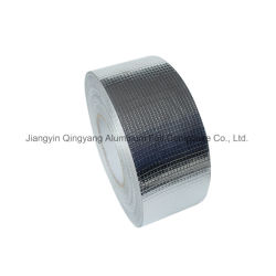 El papel de aluminio recubierto de tela de fibra con rejillas