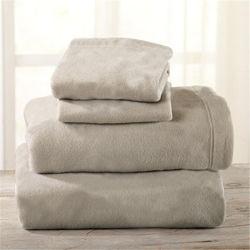 Gekreukeld Fade Stain Resistant Polar Fleece Bed Sheet