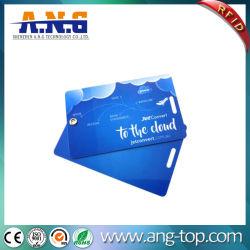 Double carte PVC avec corde de Balise transparente pour les bagages