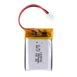 Mejorar 102535 3.7V 850mAh recargable de polímero de litio baterías