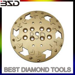 Los segmentos de diamante de la rueda de la Copa de molienda de PCD de recubrimiento de extracción