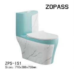 Cerámica colorida wc desaceleración FUNDA ASIENTO WC Water-Saving Sifón inodoro
