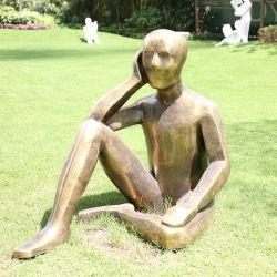 La taille de la vie de Bronze en fibre de verre résine Satue Statue toute personnalisée
