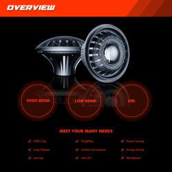 지프를 위한 안녕 낮은 광속 DRL 주간 운영하는 점화에 LED Headlamps Emark 최신 ECE에 의하여 승인되는 7inch 헤드라이트 또는 변호인 또는 트럭
