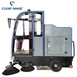 운전실이 있는 깨끗한 매직 DJ2210 바닥 청소 기계 청소 도구 산업 상업 거리 Sweeper Vehicle Road Sweep Truck