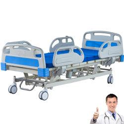 Het Frame van het bed, de Basis van het Bed wordt gemaakt van Bed Van uitstekende kwaliteit van het Ziekenhuis van het Bed ICU van Drie Functie van het Staal het Elektrische Medische