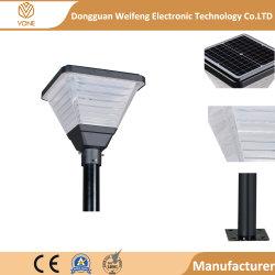 Lamp van het Gazon Aluminum+PC van de Lamp van de Binnenplaats van de Tuin van de hete de Verkopende LEIDENE ZonneMuur van de Motie Lichte Matrijs Gegoten Zonne