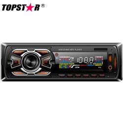 Panneau fixe Voiture Lecteur MP3-1408TS fb avec Bluetooth