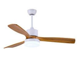 52 polegada de controlo remoto de iluminação decorativa AC ventilador DC ar condicionado moderno eléctrico LED Vintage ventilador de teto com luz