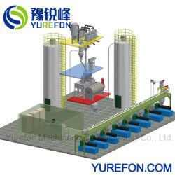 L'alimentation automatique de la poudre de PVC en plastique machine de compoundage de mélange de dosage
