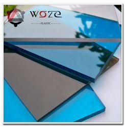 Hoja de policarbonato transparente para el panel del techo del hotel