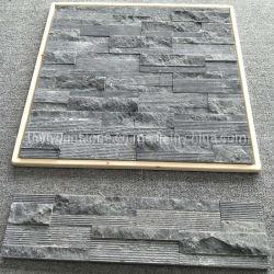 30x60cm naturel Noir/Blanc/Rusty/jaune/gris ardoise Pierre de la Culture pour l'extérieur revêtement mural Stone La pierre de construction