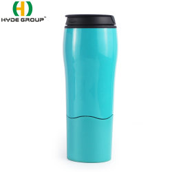 """""""魔法の吸引のコーヒーカップ""""バランス旅行マグのプラスチックびんの落ちないため"""