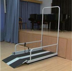 Pórtico de Elevação da cadeira de rodas, elevadores interiores