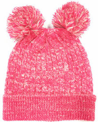 Aw19 Enfants tricot populaire Cap// Beanie Hat avec fils réfléchissante